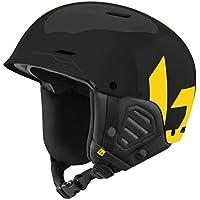Bollé Mute Casques de Ski Black&Yellow Adulte Unisexe 59-62 cm, Black