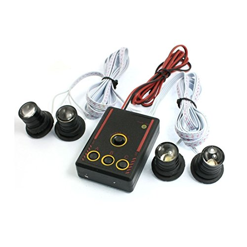Preisvergleich Produktbild zyhw 4in 1Auto Weiß 4-LED Leuchtmittel Stroboskop Lampe DRL Eagle Eye mit Controller