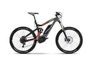 E de Hai Bike xduro Nduro 8.027,5'de 11g NX Bosch Performance CX, Schwarz/Titan/Orange matt