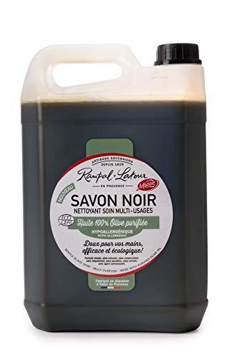 RAMPAL LATOUR Savon Noir à l'Huile d'Olive - 5 litres -