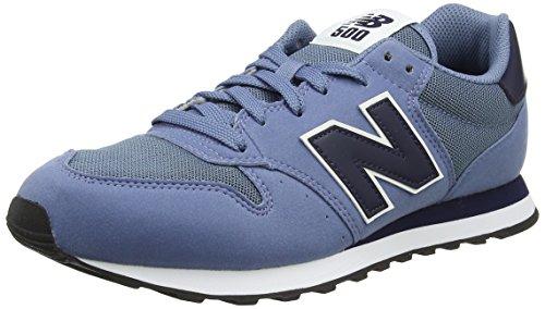 new balance 500 hombres azul