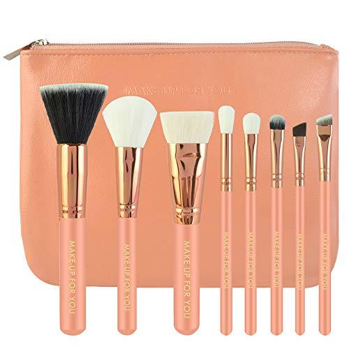 DaySing Brosse Makeup Brushes,Professionnelle Kits ,8Pcs Maquillage CosméTique Pinceau Fard à Joues Fard à PaupièRes Kit Set Makeup Brushes Brush Beauté Maquillage
