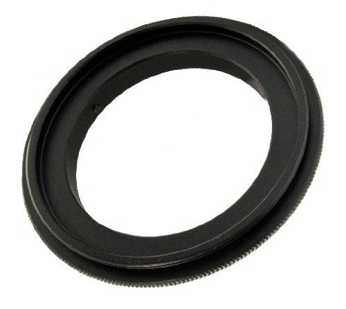 Makro Umkehrring / Retroadapter 58mm für Canon EOS Kameras Analog und Digital (Ring Reverse)