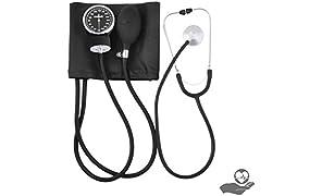 Newnik SP501 Sphygmomanometer / Aneroid BP Monitor with Carry Case, Calibration Key and Basic Stethoscope