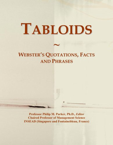 Tabloids: Webster's Quotations, Facts and Phrases PDF Books