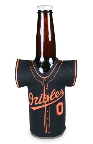Baltimore Orioles-magnet (MLB Baltimore Orioles Black Jersey 12oz. Bottle Koozie)