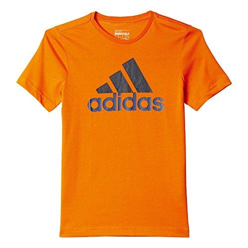 adidas Oberbekleidung Essentials Logo Tee, orange, 116, AK1993