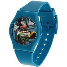 Reloj Disney Mickey Mouse Casa Club Correa Azul para Niños