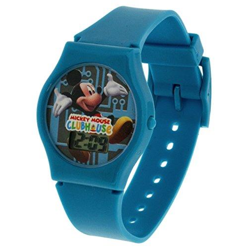 DISNEY Mickey Maus blaue Digitaluhr (Mickey-maus-uhr Blau)
