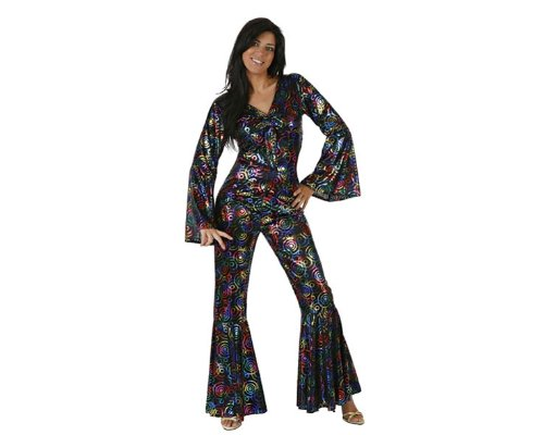Atosa - 97022 - Costume - Déguisement De Femme Disco Adulte - Taille 3