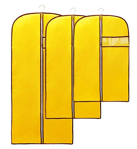HilltopToCloud Kleidersack Anzugsack Stabile Kleiderhülle Kleiderschutz hochwertige atmungsaktive...