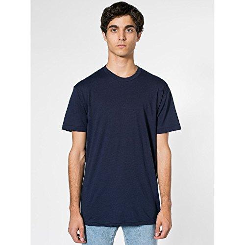 american-apparel-camiseta-lisa-de-manga-corta-con-cuello-redondo-extra-grande-xl-azul-marino