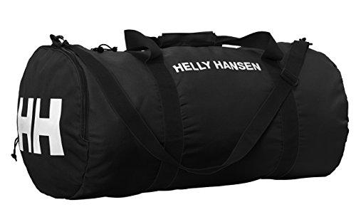 Helly Hansen Packable Duffelbag L Bolsa de Deporte, 60 cm, Negro