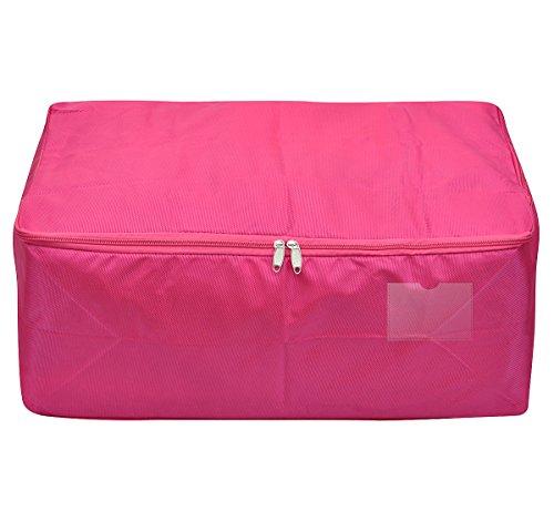 & Viaggi sacchetto dell'organizzatore, contenitore di immagazzinaggio per l'uso universitaria-camera, impermeabile ed antipolvere, attraente colore (rosso rosato, L) confronta il prezzo