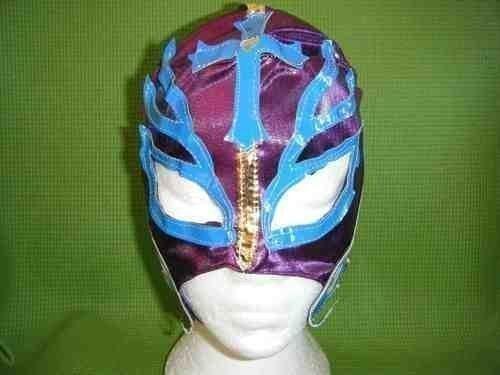 Violett Rey Mysterio Wrestling Maske Fancy Dress Up Costume Outfit Maske mexikanischen Kinder Jungen Mädchen Rolle spielen Superheld Wrestler Super Hero restling New - Wwe Kostüm Mädchen