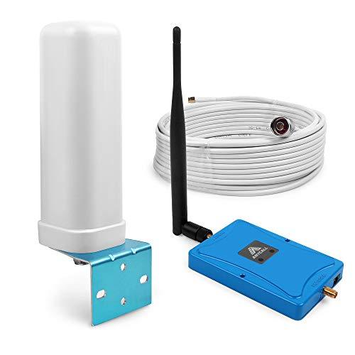 Handy Signalverstärker Dual-Streifen LTE 4g (Band 20/7) 800/2600MHz Netzwerkkabel Repeater für Handy mit SMA-Connector (Omni Directional Antenna)