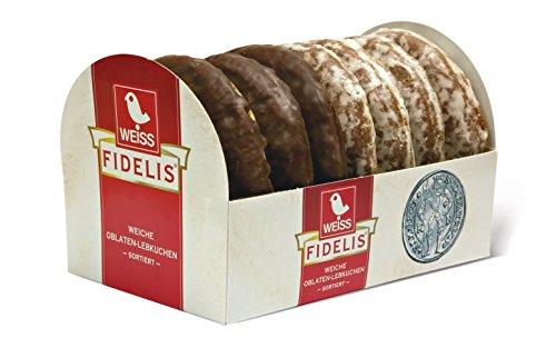 Weiss Oblatenlebkuchen 2fach, 21er Pack (21 x 200 g)