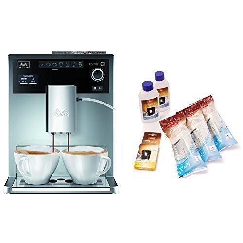 Melitta E 970-306 Kaffeevollautomat Caffeo CI One-touch Cappuccino + Melitta 6er Pflegeset