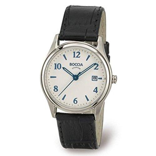 Boccia Women's Quartz Watch 3199-01 with Leather Strap