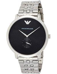 Emporio Armani Modern Slim Analog Black Dial Men's Watch - AR11161