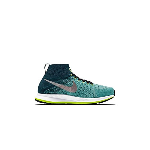 Nike Zm Pegasus All Out Flyknit Gs, Chaussures de Running Entrainement Homme Verde (Verde (clear jade/white-midnight turq-volt))
