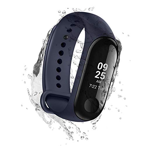 Xiaomi Mi Band 3 - Activity tracker con monitoraggio della frequenza cardiaca [Versione EU], display touch OLED da 0,78'