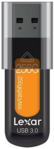 Lexar jumpdrive s57 256gb usb 3.0 flash drive ljds57-256abeu, arancione