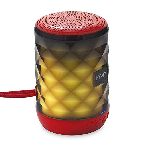 R-SOUNDBAR Bluetooth-Lautsprecher Freisprechen U-Disk TF-Kartenschnittstelle Integriertes FM-Radio Integrierte Batterie, Kristallbunte Lichter