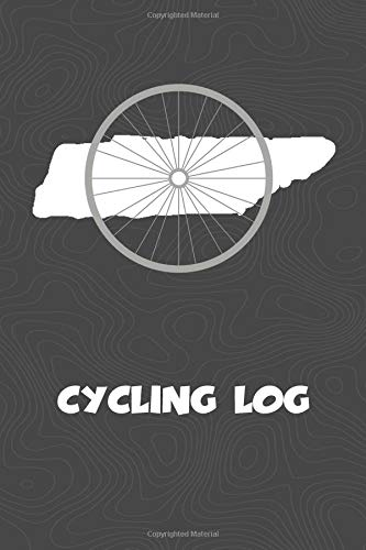 Cycling Log: Tennessee Cycling Log for tracking and monitoring your workouts and progress towards your bicycling goals. A great fitness resource for ... Bicyclists will love this way to track goals! por KwG Creates
