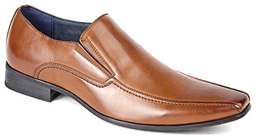 Herren TWIN Gusset Tramlinie Casual Schuhe mit Lederfutter, Größen 40