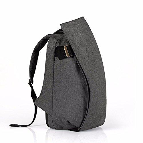 TBB-Zaino zaino outdoor da viaggio alla moda tendenza semplice di grande capacità borsa per computer,Tromba Viola Small Grey