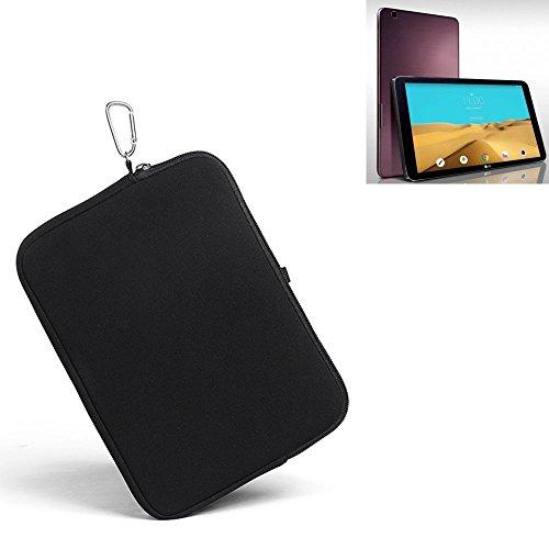 K-S-Trade® für LG Electronics G Pad 2 10.1 Neopren Hülle Schutzhülle Neoprenhülle Tablethülle Tabletcase Tablet Schutz Gürtel Tasche Case Sleeve Business schwarz für LG Electronic