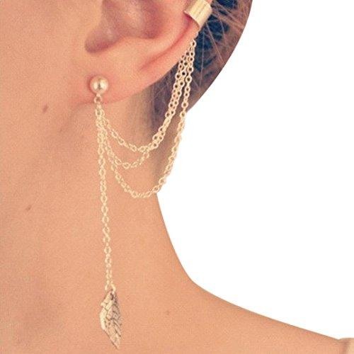8d9a6d6e655c pendientes dorados largos - Shopping Style