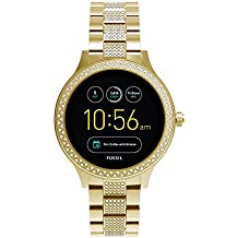 Fossil Venture Analog-Digital Black Dial Women's Watch - FTW6001