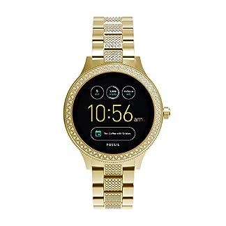Fossil Smartwatch Mujer de Digital con Correa en Acero Inoxidable FTW6001