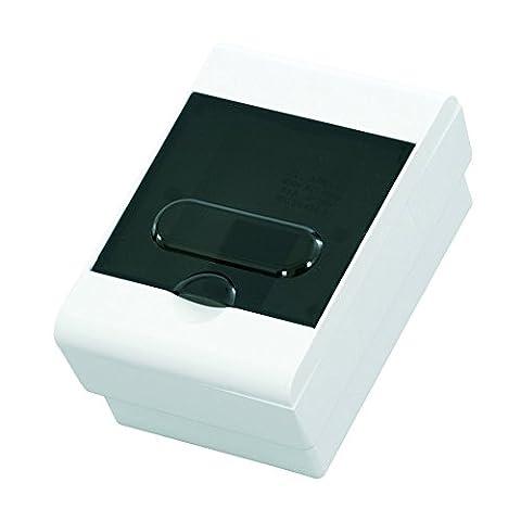 Aufputz Kleinverteiler 4 Module / Sicherungskasten / Verteilerkasten Aufputz IP40