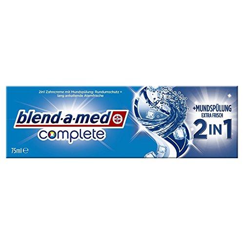 Blend-a-med Complete 2in1 plus Mundspülung Extra Frisch Zahncreme, 75 ml