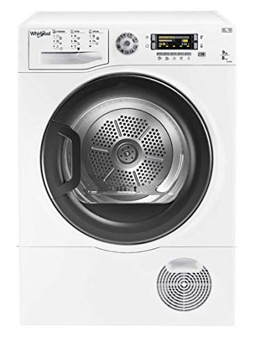 Whirlpool DELY9000 Seche Linge Frontal, Blanc , 9kg
