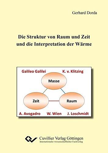 Die Struktur von Raum und Zeit, abgeleitet vom v. Klitzing´s Quanten-Hall-Effekt, Galilei´s Weg-Zeit-Gesetz der Bewegung, Wien´schen ... Gesetz, und die Interpretation der Wärme