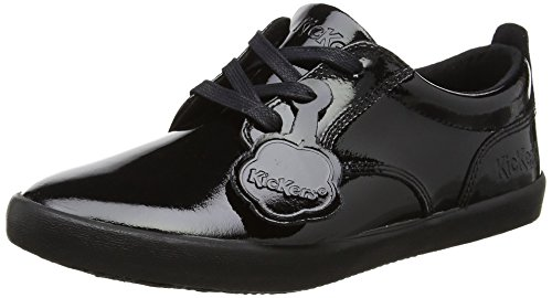 Kickers Women's Kariko Lace Trainers, Black (Black), 5 UK 38 EU