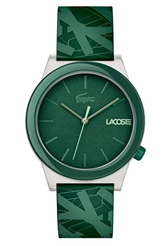 Lacoste Mens Analogue Classic Quartz Watch with Silicone Strap 2010932