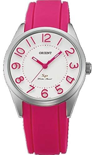 Orient Womens Analogue Quartz Watch with Rubber Strap FQC0R009W0