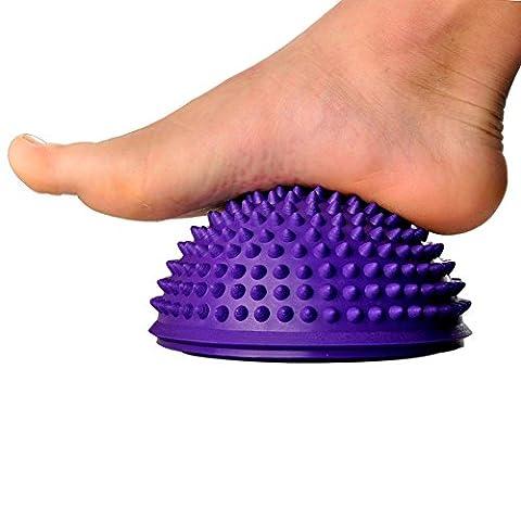 Ezyoutdoor Yoga Half Ball Fitness Equipment Kids Elder Durian Massage