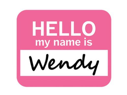 wendy-bonjour-mon-nom-est-tapis-de-souris-tapis-de-souris