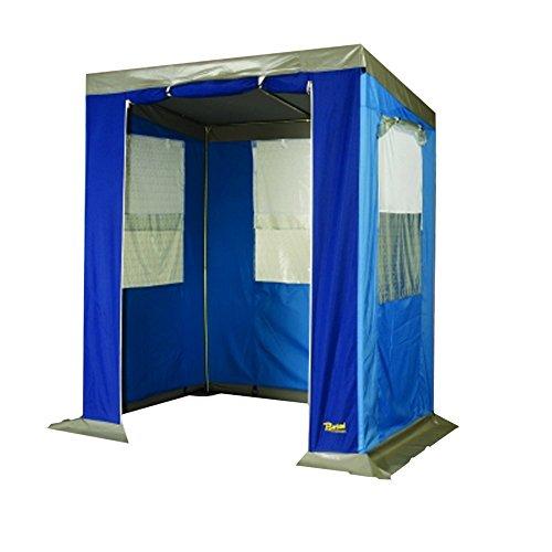 Bertoni Vorhänge Bistrot Küche Picknick Camping, Blau, Einheitsgröße