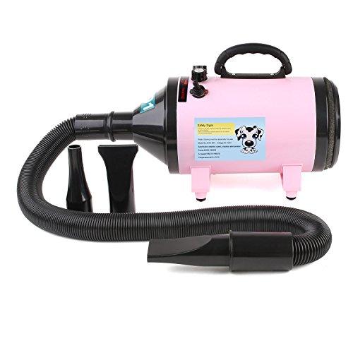 MVPower 2800W Hundefön Tierfön Hundetrockner Pet Dryer Haustier Pflege pink