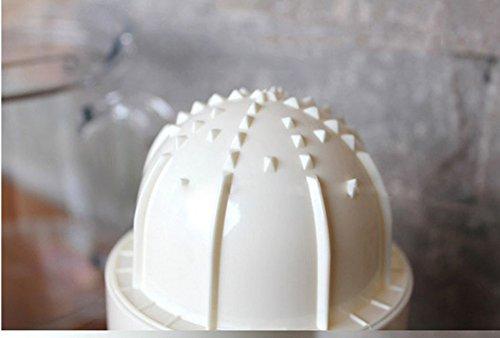 Tailcas® Fashionable Küchen 2 in1 Multi Funktions Manuelle Handpresse Orangen, Grapefruit, Zitrone, Kiwi, Citrus,Wassermelone, Erdbeere, mango Squeezer Saft Entsafter Saftpresse Zitronenpresse Orangenpresse mit Auffangbehälter - 3