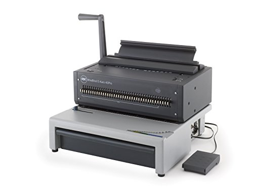 GBC Binding Combs Metal WireBind E-Karo 40PRO A4, Punches Up to 15Sheets at a Time, Links jusau' with 125sheets - Best Price