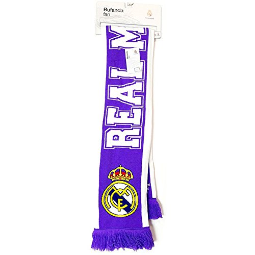 Bufanda Fan Real Madrid ¡Hala Madrid! doble,1unidades por pedido
