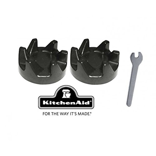 2-x-kitchenaid-blender-black-rubber-clutch-gear-9704230-spindle-spanner-removal-tool
